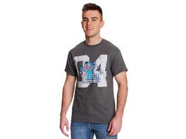 Lilo & Stitch - University of Stitch T-Shirt grau