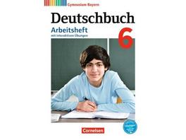 Deutschbuch Gymnasium 6. Jahrgangsstufe - Bayern -