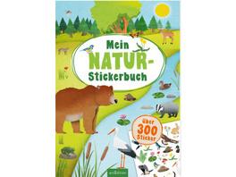 Mein Natur-Stickerbuch