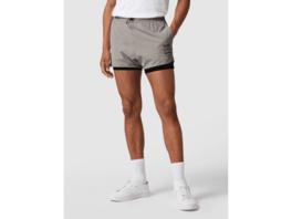 Shorts mit elastischem Bund Modell 'Spreent'