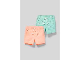 Multipack 2er - Baby-Shorts