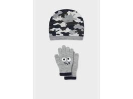 Set - Mütze und Handschuhe - 2 teilig